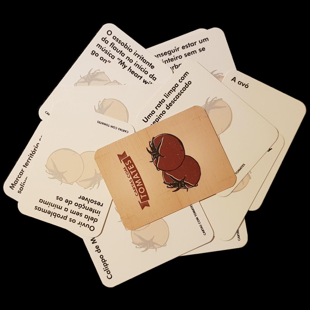 monte de cartas